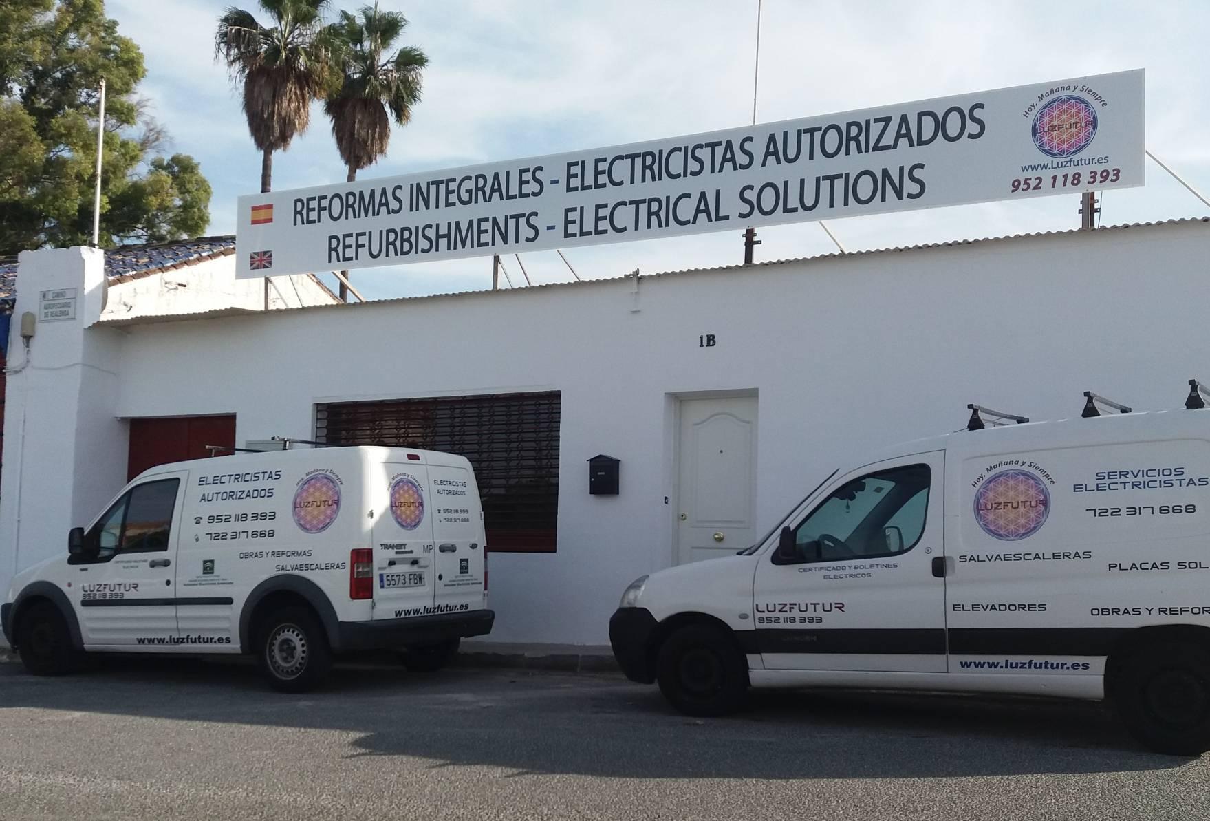 Luzfur es una empresa din mica dedicada a las - Trabajo electricista malaga ...